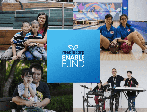 Fintech firm Aleta Planet's new foundation donates S$100,000 to Mediacorp Enable Fund