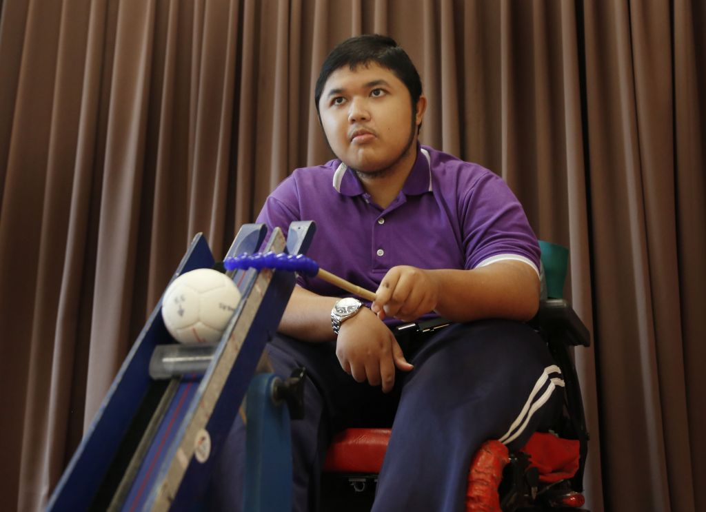 Dark days behind him, teen hopes to make a difference