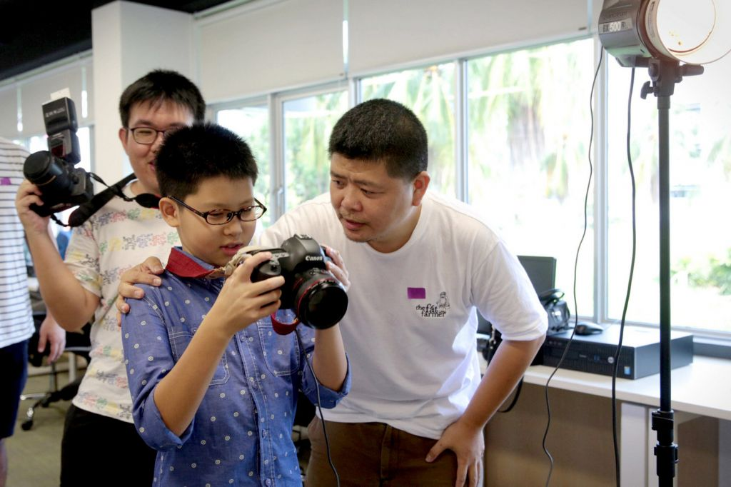 Photography, music help children with disabilities connect with society