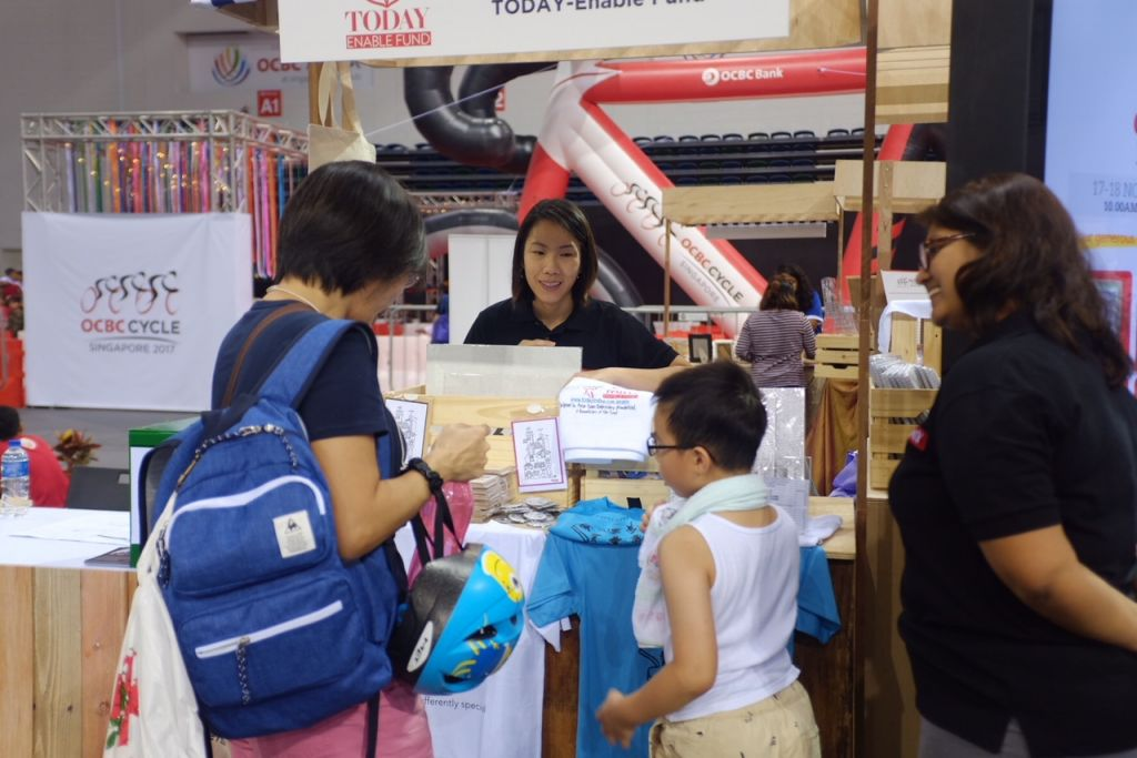 TODAY Enable Fund charity bazaar raises over S$3,600 from items produced by the special needs community