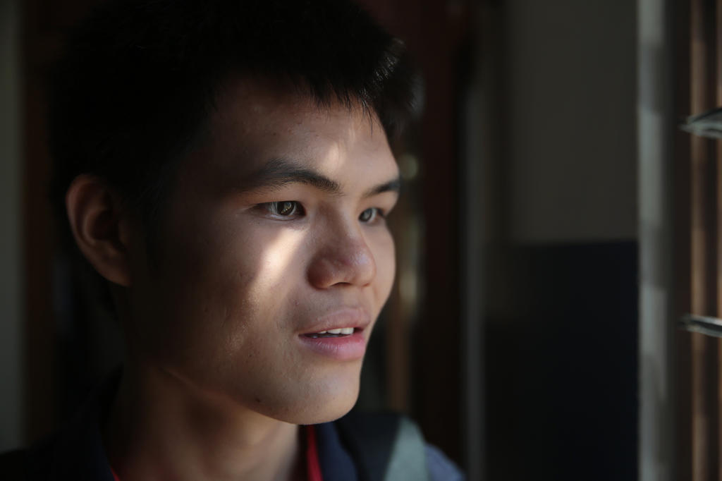 Blind IT student on track to achieve tech dreams