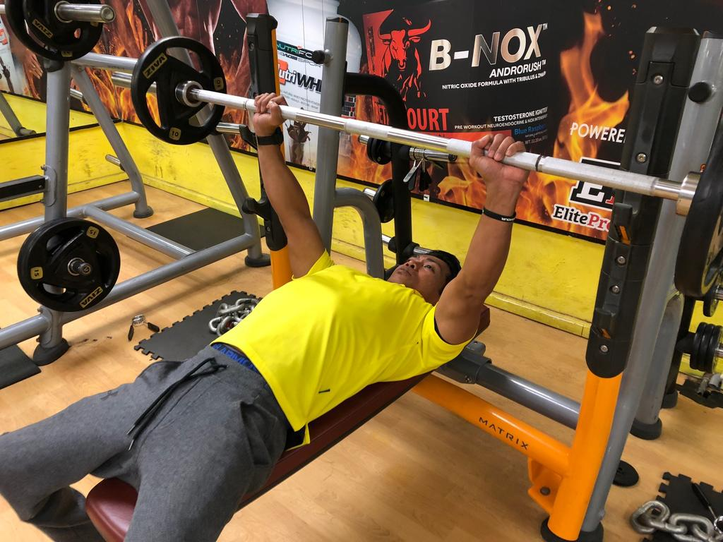 After brush with drugs, fitness buff, 49, guns for para-powerlifting success