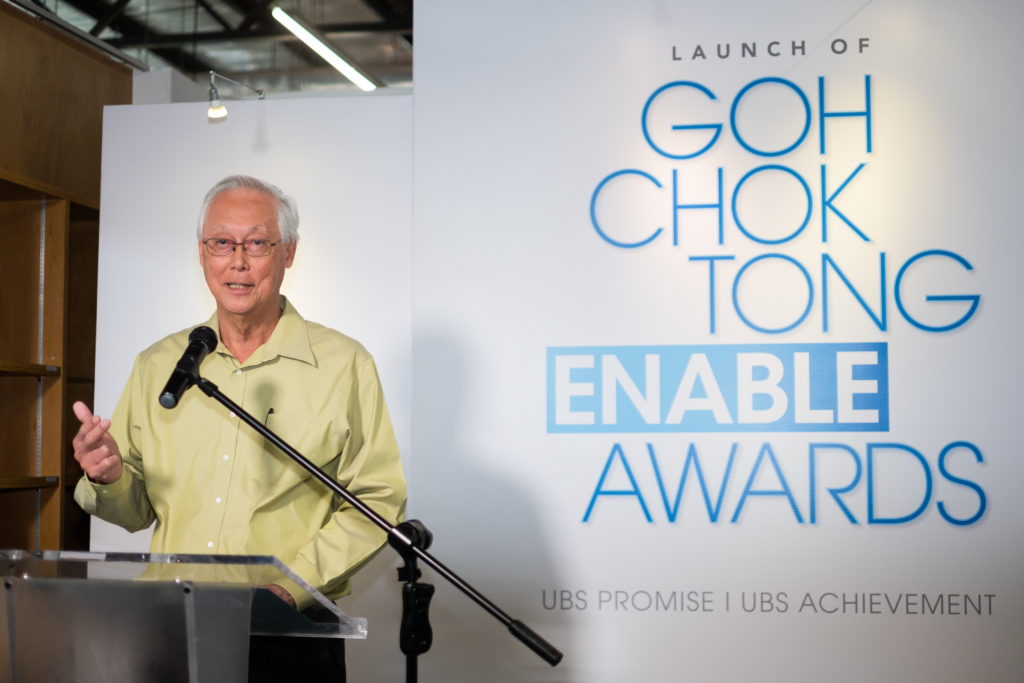 Goh Chok Tong Enable Awards launched to recognise achievements of people with disabilities