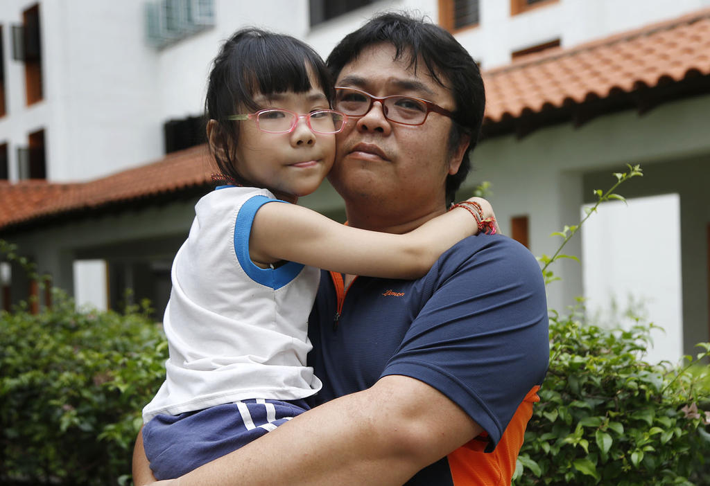 Single dad eyes better life for special-needs daughter