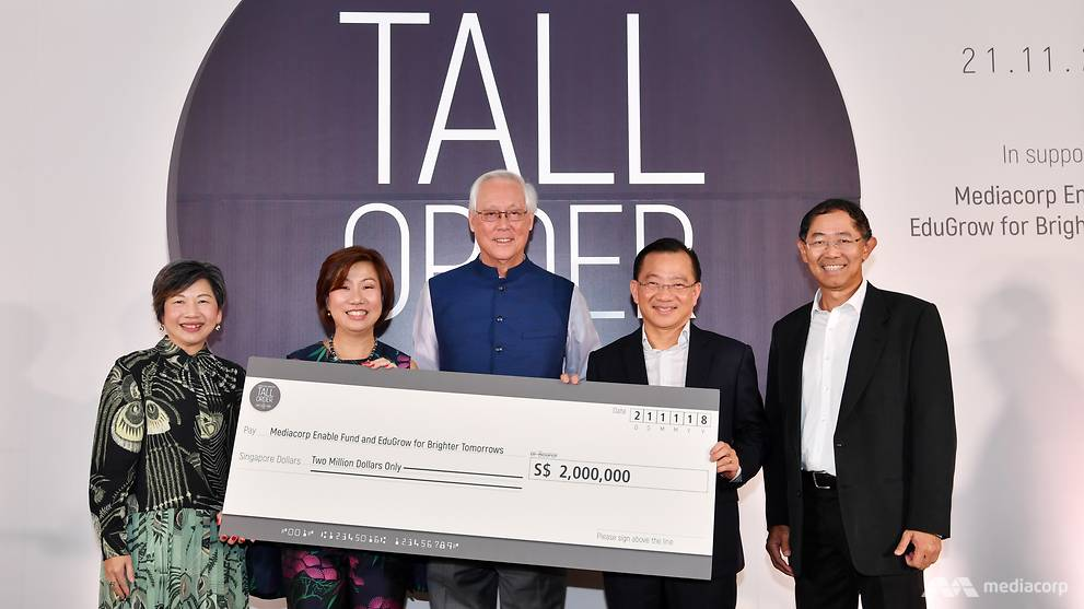 Tall Order: The Goh Chok Tong Story raises S$2 million for charity